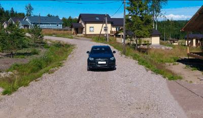 Дороги в поселке