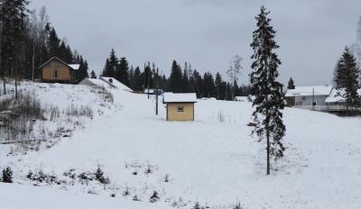 Зимняя скважина